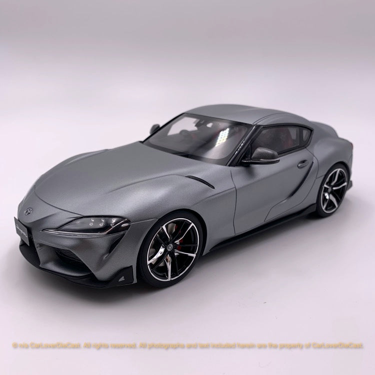 Kyosho 1:18 Toyota GR Supra (Mat Grey) KSR18045MG-B resin car model available now