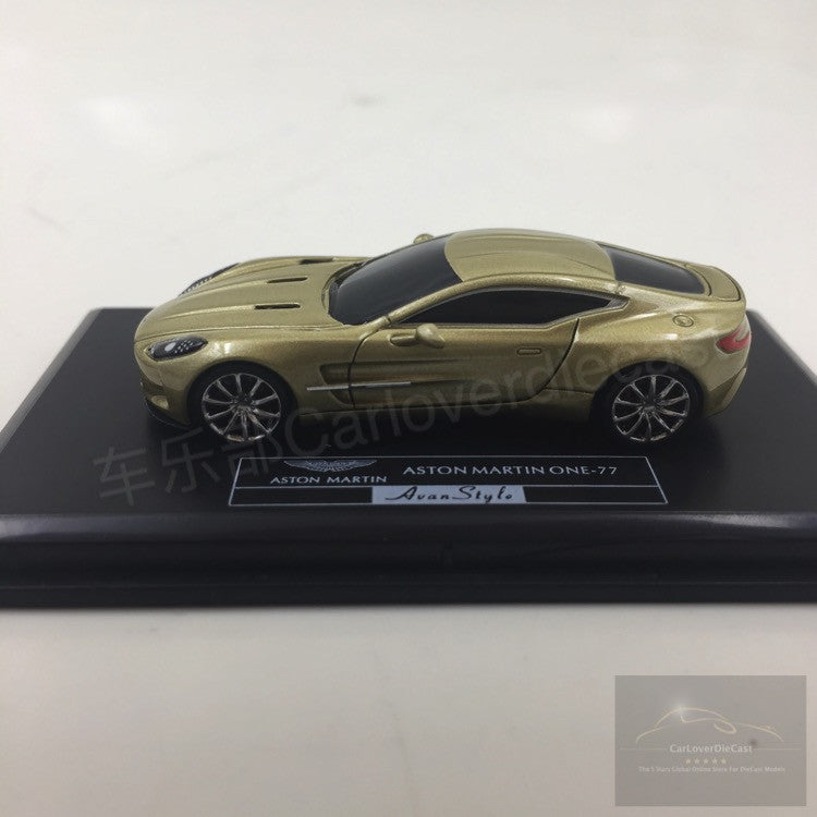 ... (Avanstyle) Aston Martin One 77 Resin Scale 1:87 (champagne Gold) ...