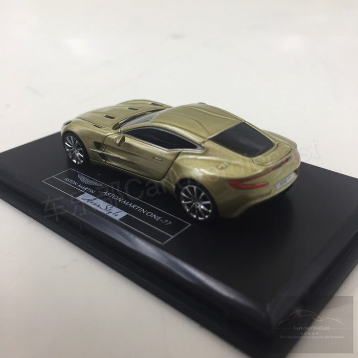 (Avanstyle) Aston Martin One 77 resin scale 1:87 (champagne gold) Frontiart
