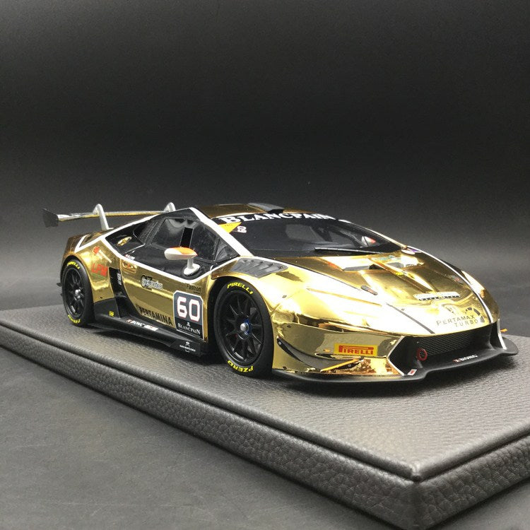Top Marques - Lamborghini Huracan Racing Cars 2016 Dennis Lind World Finals resin scale 1:18 (TOP36B) available  now