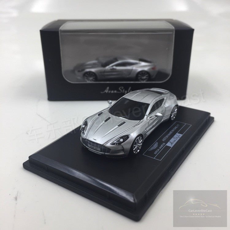(Avanstyle) Aston Martin One 77 resin scale 1:87 (Silver) Frontiart