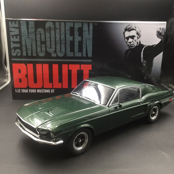 ACME 1:12 1968 Ford Mustang GT - BULLITT (Steve McQueen) resin (US011) available  now