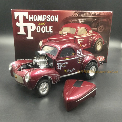 ACME 1:18 Jr. Thompson & Poole 1941 Gasser (A1800909) Diecast car model
