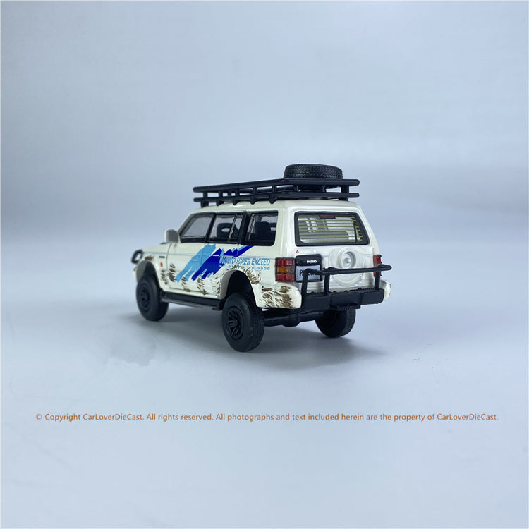 BM Creations 1:64 Mitsubishi  3rd Gen Pajero Jungle Pack LHD/RHD (64B0054/64B0055) Diecast Car Model