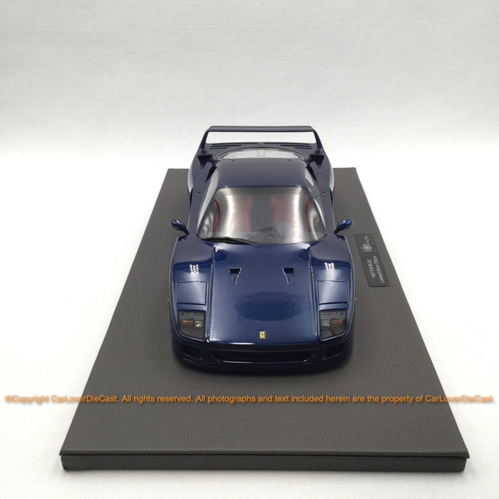 Top Marques - F40  1:12 resin model (TM12-17E) Blue available now
