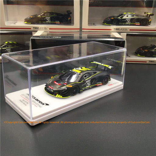 TSM 1:43 McLaren  650S GT3 #42  2017 Spa 24 Hrs.  resin car model (TSM430344) available now