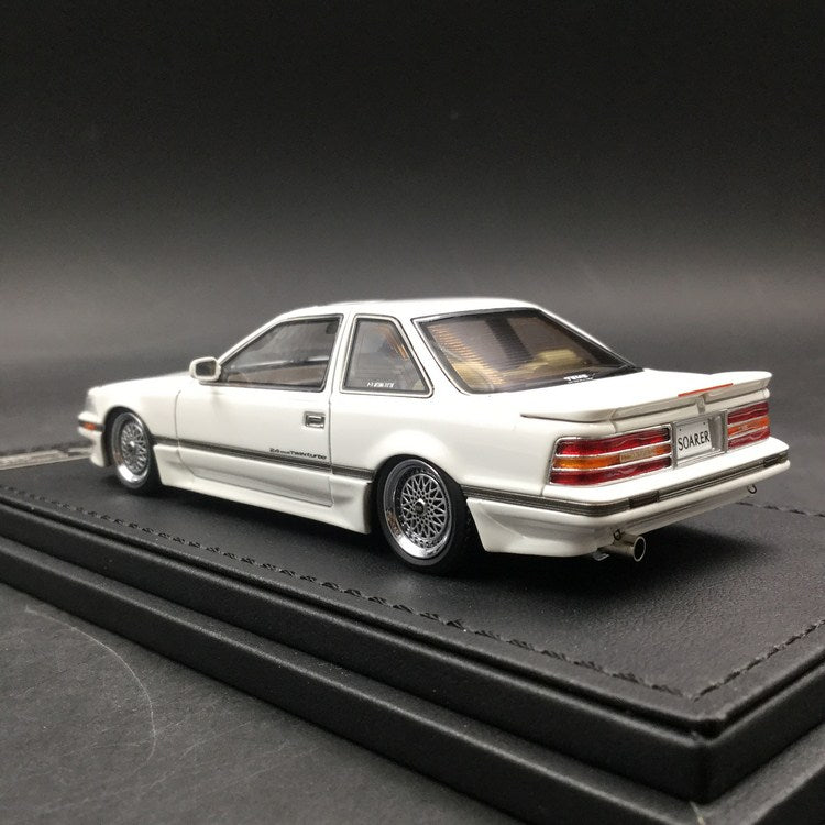 Ignition Model 1:43  Toyota Soarer (Z20) 2.0GT-TWIN TURBO L  White resin Model (IG1318)  available now