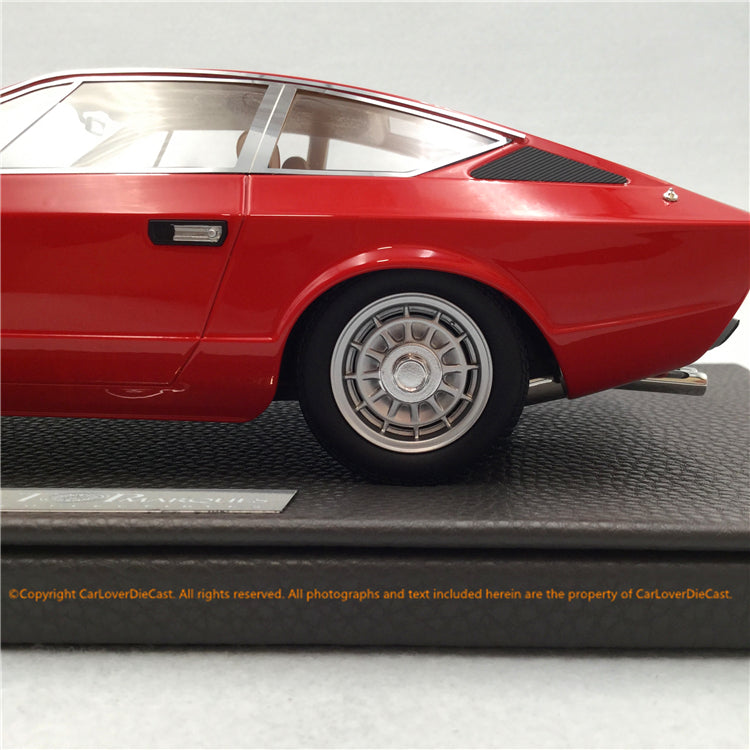 Top Marques 1:18 Maserati Khamsin(TOP33A) Red Limited 250 pcs available now