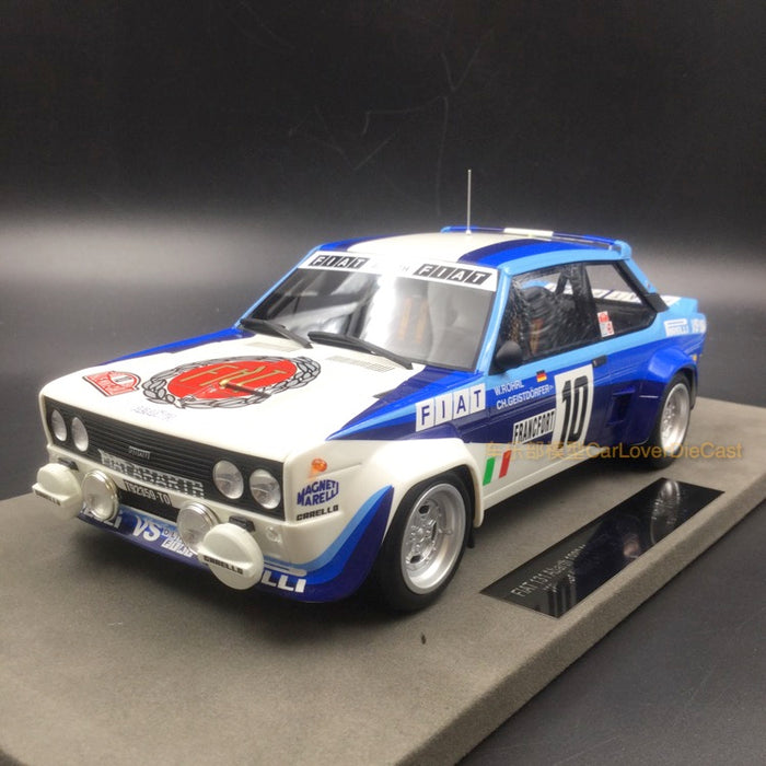 Top Marques - Fiat 131 Abarth Winner M.Claro 1980 resin scale 1:18 (TOP43C)  available on end of March pre-order now