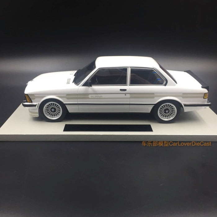 LS Collectibles - BMW 323 Alpina in White resin scale 1:18 (LS020B)