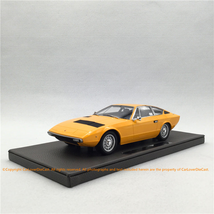 Top Marques 1:18 Maserati Khamsin(TOP33B) Yellow  Limited 250 pcs available now