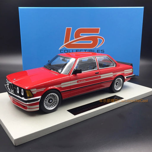 LS Collectibles - BMW 323 Alpina in Red  resin scale 1:18 (LS020C)