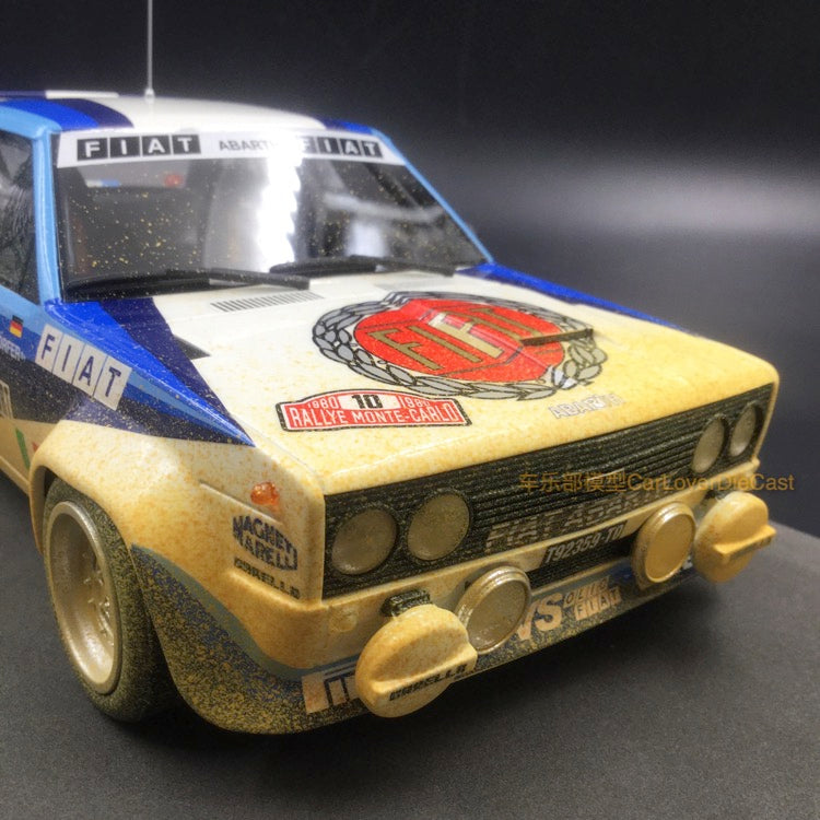 1:87 BS-Design resin Fiat 124 Abarth Rally