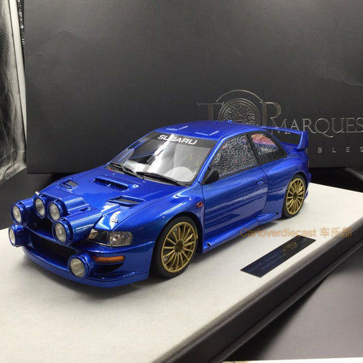 Top Marques - Subaru Impreza S4 WRC #3 Monte Carlo rally 1998 (No decals) resin scale 1:12 (TMR12_02AW) available on end of March 2018 Pre-order now