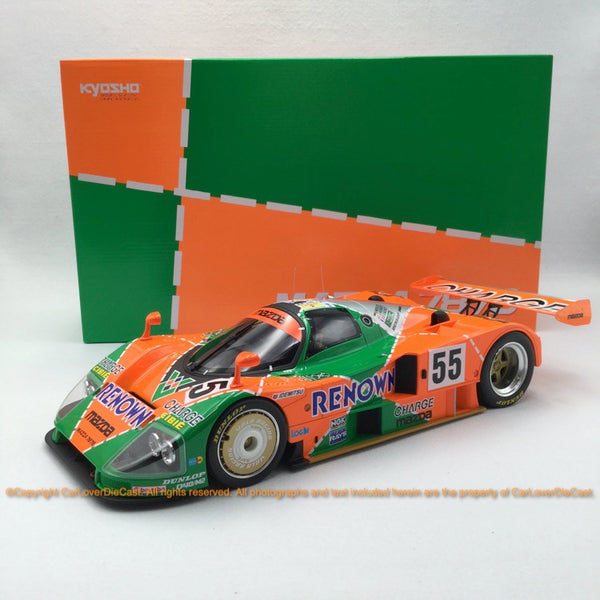 Kyosho 1:12 MAZDA 787B #55 (KSR08665A-B) resin car model