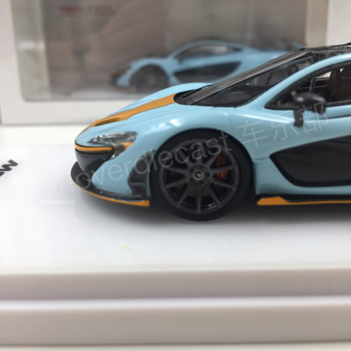 TSM - Mclaren P1™ 2014 Blue / Orange Resin Scale 1:43 (TSM164331)
