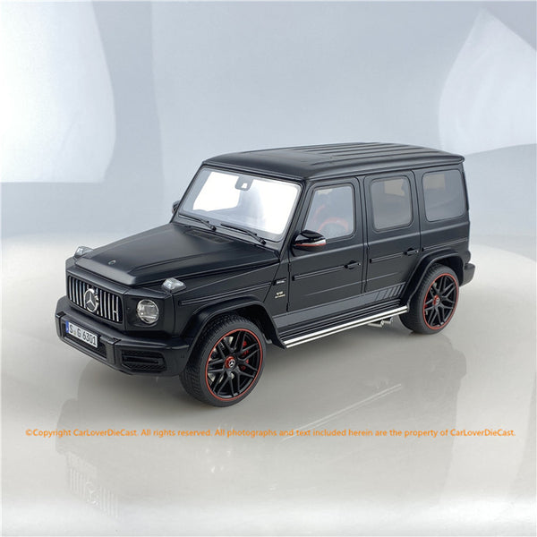 GT Spirit 1:18 Mercedes AMG G63 (Matte Black) Resin car model CLDC006 Carloverdiecast exclusive series available on Nov 2020 pre-order now
