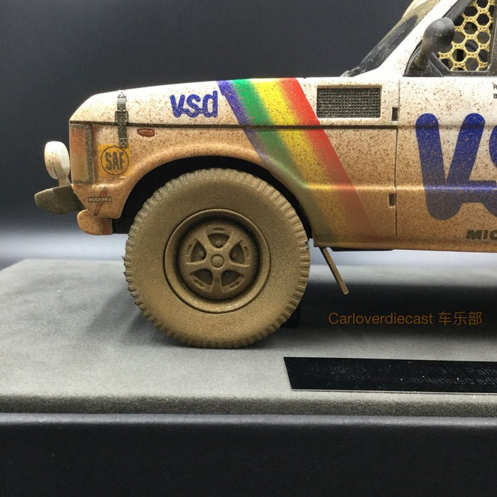 Top Marques - LandRover Range Rover Paris Dakar Winner 1981 (Dirt version) resin scale 1:18 (TMPD01AD) available on end of March 2018 Pre-order now
