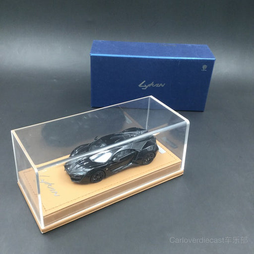 (Bunoart) W. motor Lykan hypersport resin scale 1:43 in Black (BN3001C)