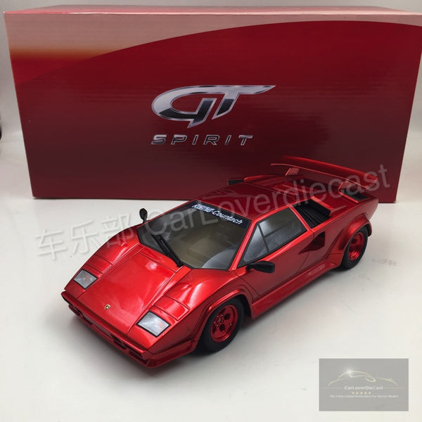 GT SPIRIT Koen-Specials Countach Turbo Resin Scale 1/18 Model (GT134 )   Limited 1750 units available now