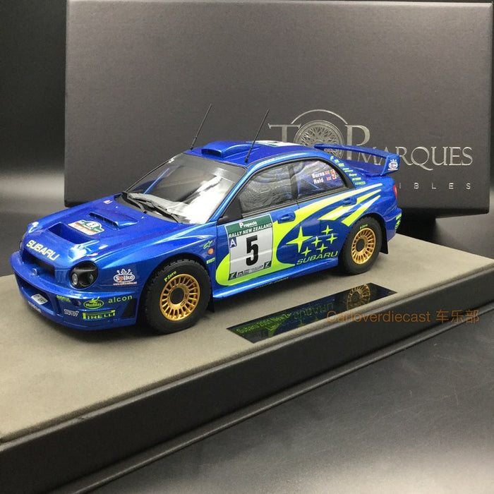 Top Marques - Subaru WIN Monte Carlo 4p resin scale 1:18 (TOP37B) available now