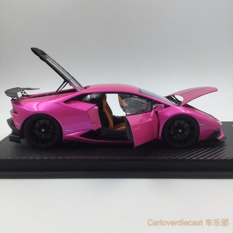 ACM - DMC Lamborghini Huracan diecast scale 1:18 (Flash Pink color) available now