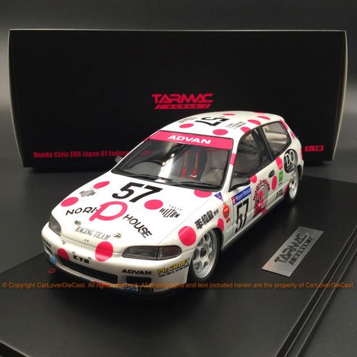 Tarmac Works 1:18 Honda Civic EG6 Japan N1 1992 #57 (T18-001-NPH)
