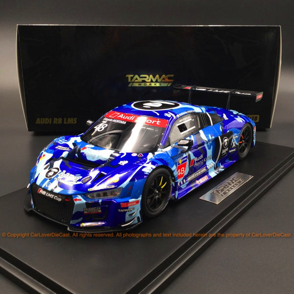 Tarmac Works 1:18 Audi R8 LMS 2016 Cup Sepang Winner AAPE (T18-004-CUP16EM) resin car model