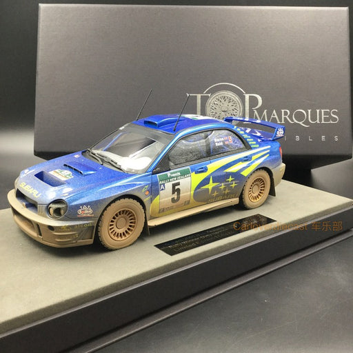 Top Marques - Subaru WIN Monte Carlo 4p resin scale 1:18 (TOP37BD) Dirt Version available  now