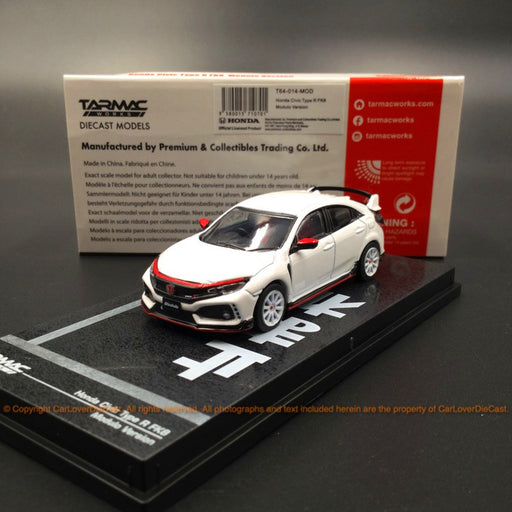 Tarmac Works 1:64 Honda Civic Type R FK8 Modulo Version (T64-014-MOD) DieCast car model