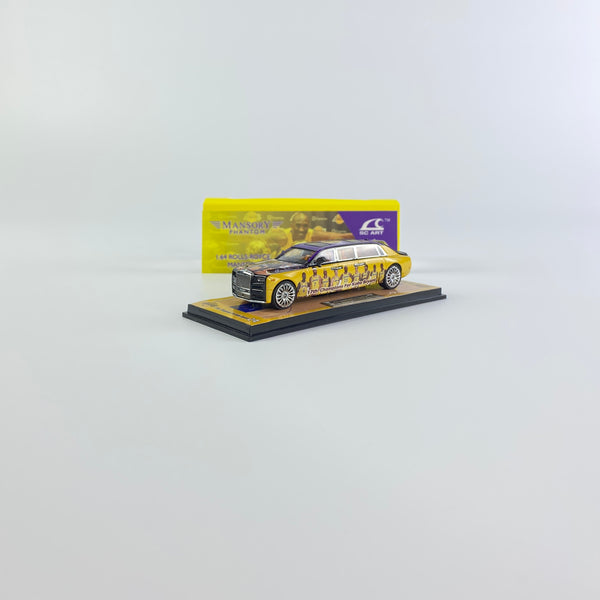 SMALLCARART 1:64  RR Phantom VIII The Lakers (SK164007Lk) Diecast Car