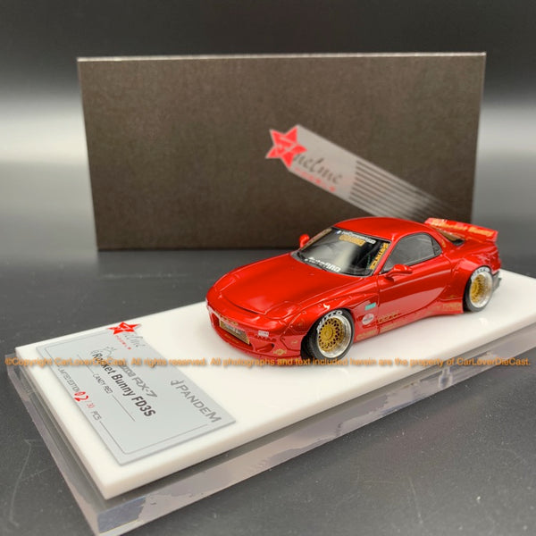 Fuelme 1:43 Rocket Bunny RX-7 FD3S Resin Modell (FM43008LM-C) Candy Red ist ab sofort verfügbar