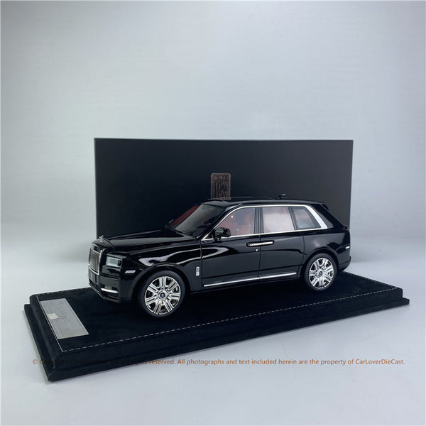 HH Model 1:18 RR Cullinan resin Car model (5 colors option) available on MAY/JUNE 2021 pre-order item