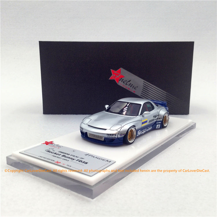 Fuelme 1:43 Rocket Bunny RX-7 Future Ver 3 Resin Model (FM43008LM-F)   available now