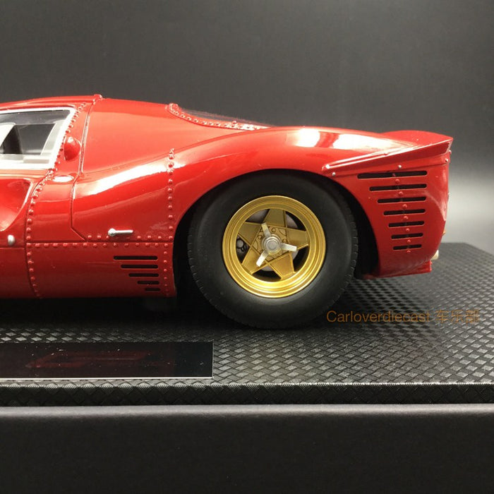 GP Replicas - 330 P4 Plain red resin scale 1:18 (GP06C) Limited 100 pcs available now