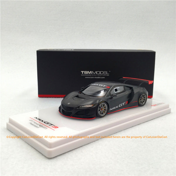TSM 1:43 Honda NSX GT3 presentation 2017 Full carbon deco resin car model (TSM430299) available now