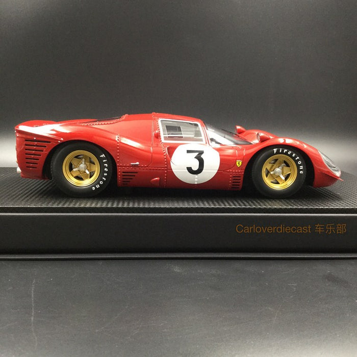 GP Replicas - 330 P4 1000 KM Monza Winner 1967 #3 resin scale 1:18 (GP06B) Limited 150 pcs available now