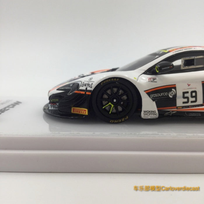 TSM-Model Mclaren 650S GT3 #59 24 Hrs of Spa 2016 resin scale 1:43 (TSM430195) available now
