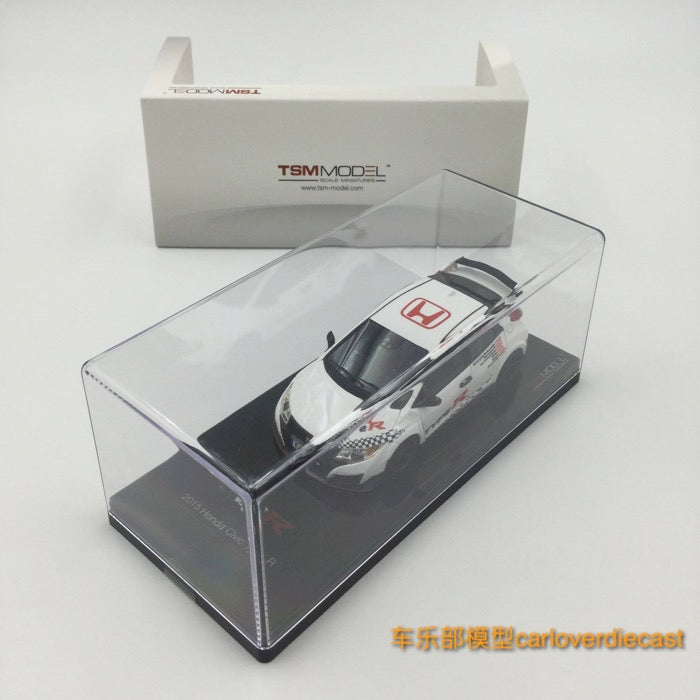 TSM-Model Honda Civic Type R 2016 Resin Scale 1:43 (TSM430243) Available  now (with 5 european tracks frontwheel drive record)