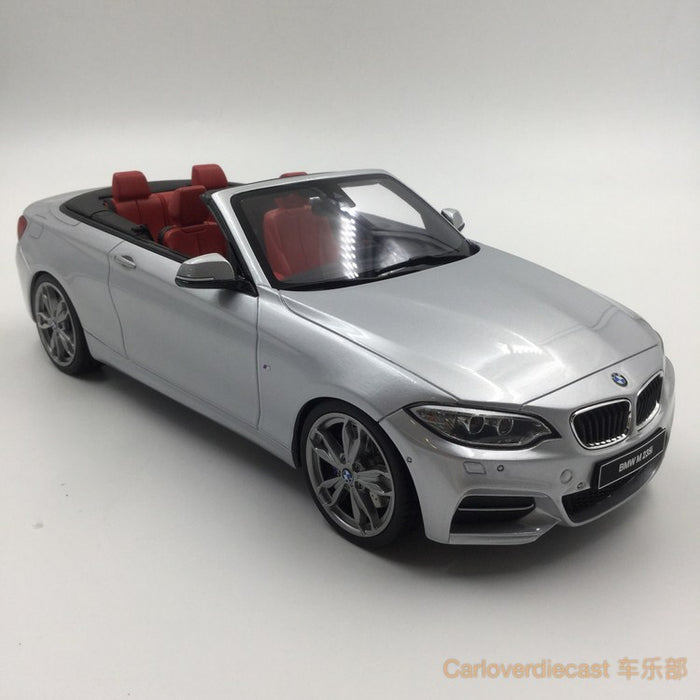 GT Spirit - BMW M235i Cabrio Resin Scale 1:18 (GT102) Limited 500 pcs available now