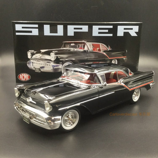 ACME 1:18 1957 Oldsmobile Super 88 diecast car model A1808004