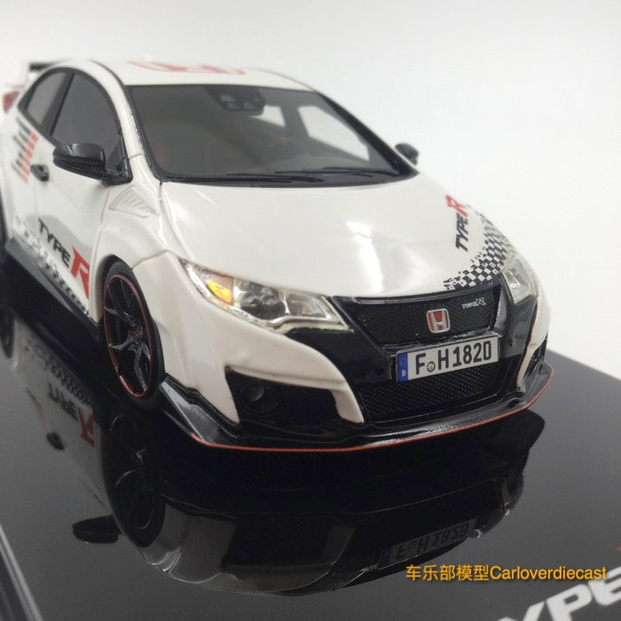 TSM Model 1//43 Honda Civic Type R Blue Resin Limited Edition Collection