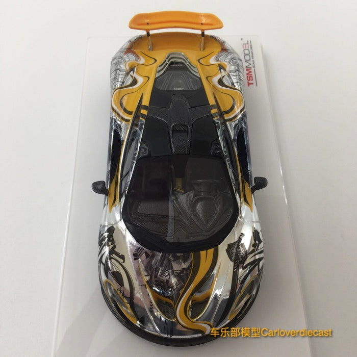 TSM-Model - McLaren P1™ Art Car by Sticker City Scale 1:43 (TSM164350) available  now