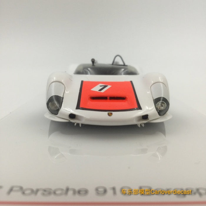 TSM-Model - Porsche 910 1967 Bergspyder #1 Championnat du Monde Ollon-Villars Winner Scale 1:43 TSM164357 available now