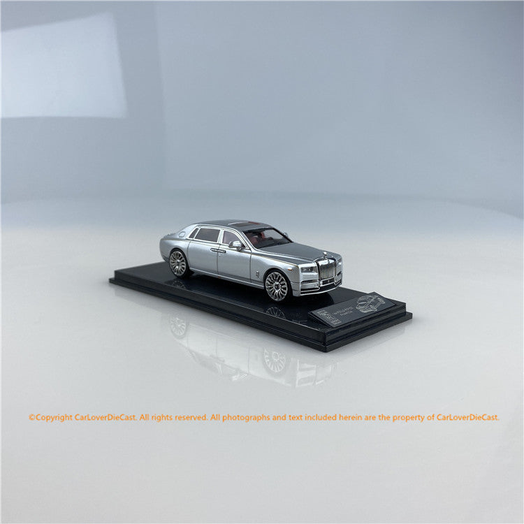 SMALLCARART 1:64  RR Phantom Generation 8 Silvery (SK164005S) Diecast Car available  now