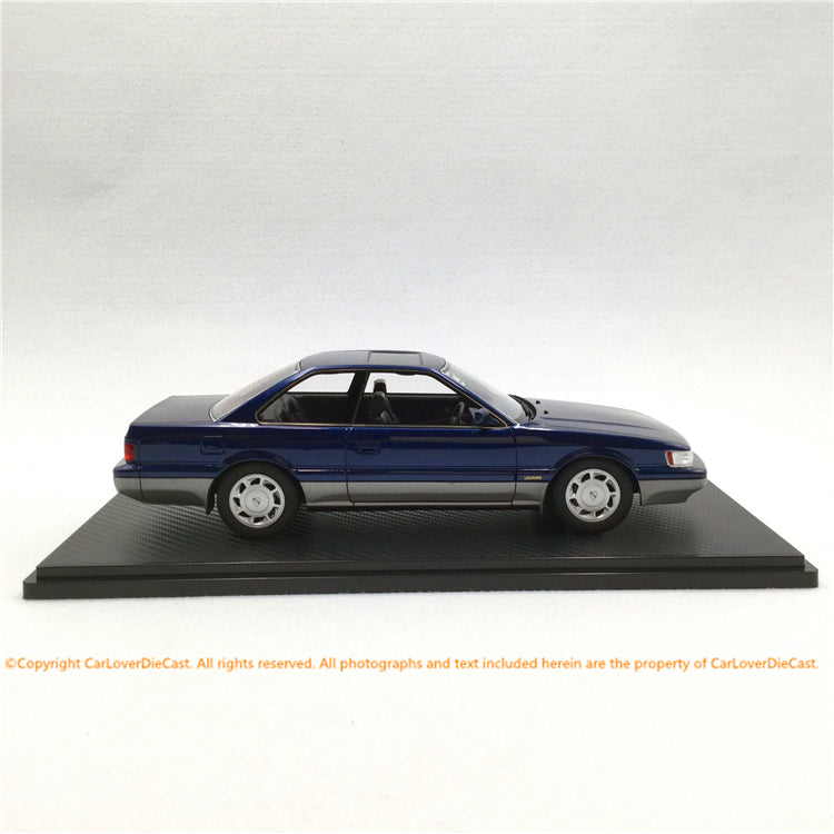 Ignition Model 1:18 Nissan Leopard (F31) Ultima V30TWINCAM TURBO Dark Blue/Silver (IG1559) resin car model available now