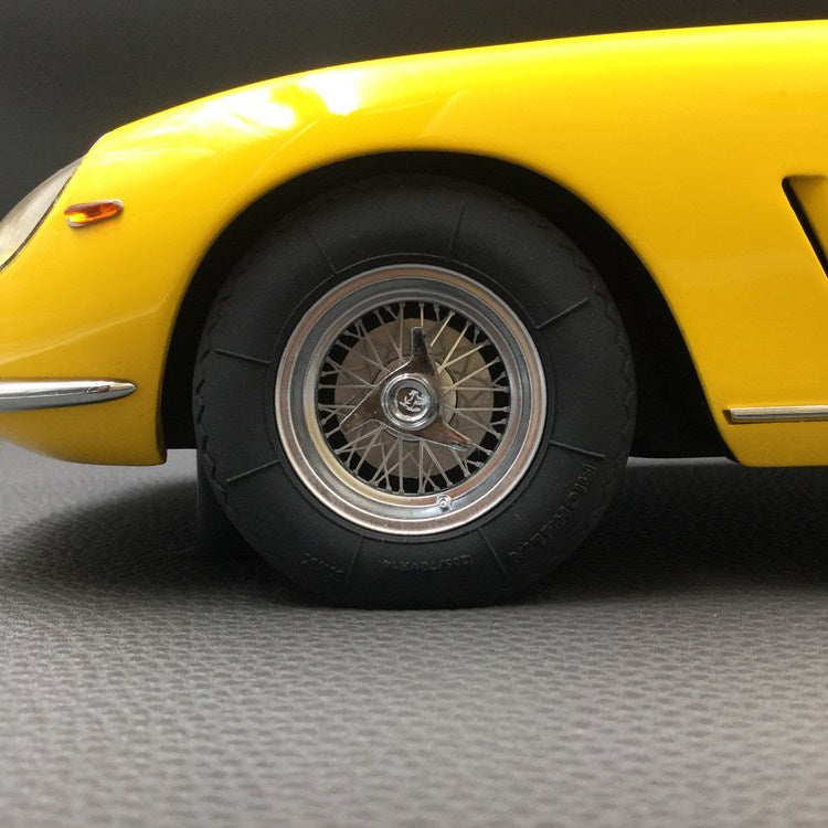 Top Marques -  275 GTB /4  Spider (Yellow) 1:12 resin model (TM12-04F) available now