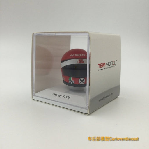 TSM - Helmet : Niki Lauda - Ferrari 1975 resin scale 1:8 (TSMAC0005) available  now