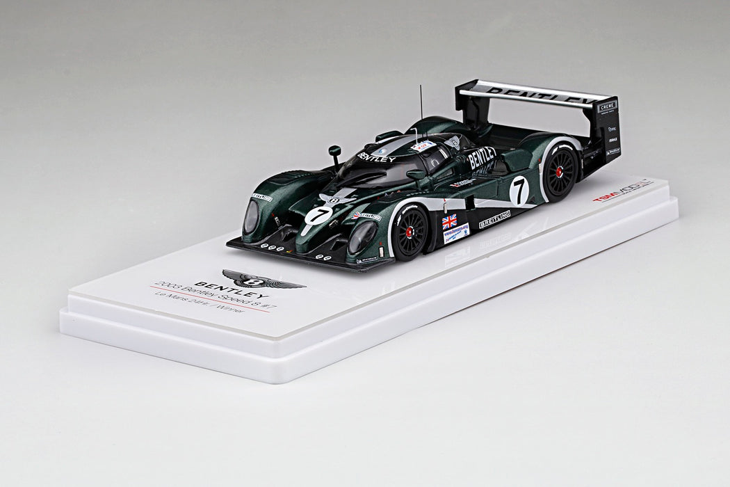 TSM Model -  Bentley Speed 8 #7  2003 Le Mans 24Hr Winner resin scale 1:43 available on dec 2017 pre order now (TSM430144)