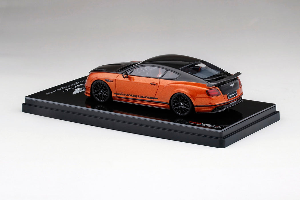 TSM Model -  Bentley SuperSport 2017 Onyx Over Orange Flame resin scale 1:43 available on dec 2017 pre order now (TSM430280)
